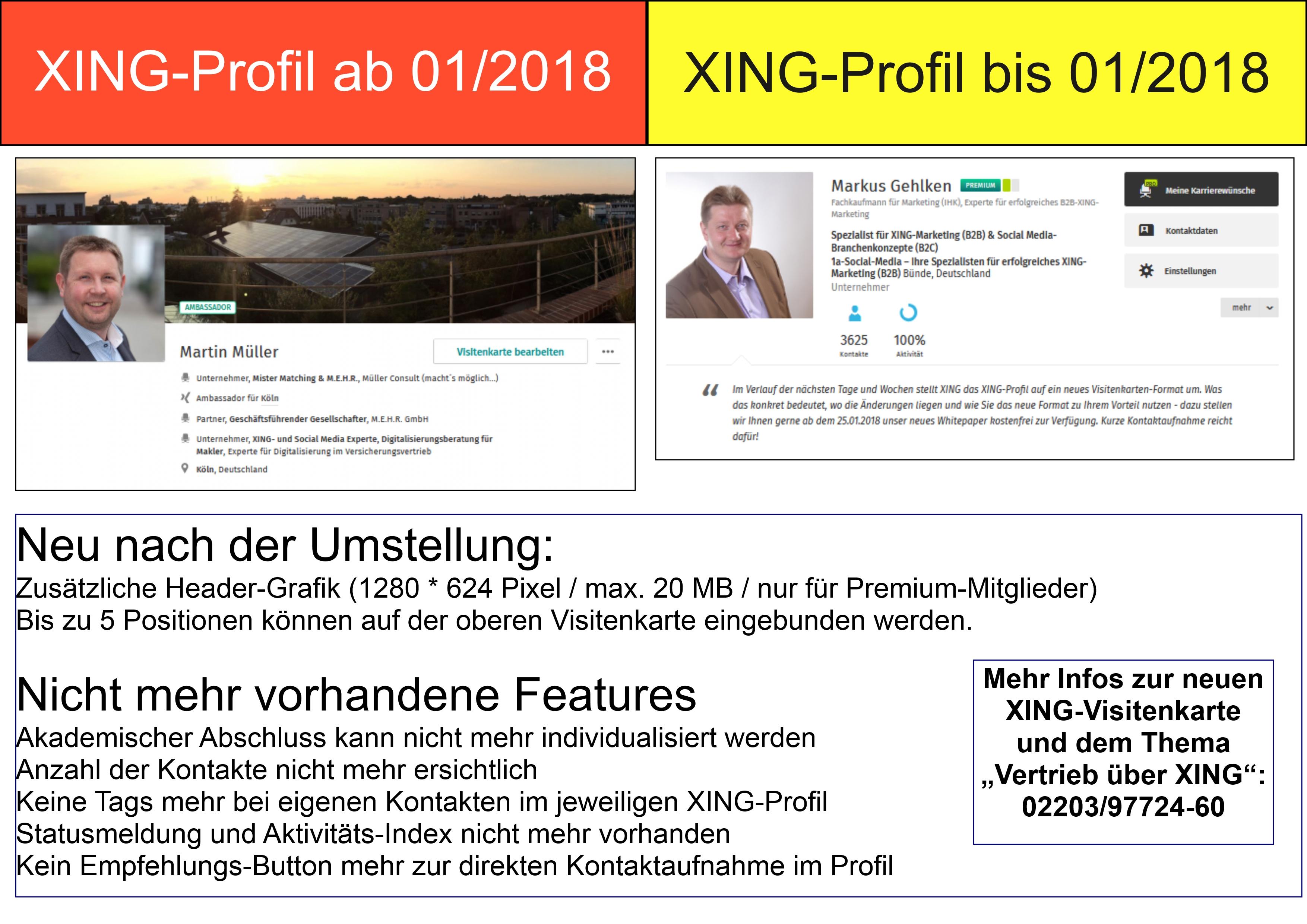 Xing Stellt Auf Das Neue Visitenkarten Format Um Wie Nutzen